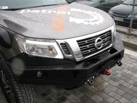 F4x4 Front bumper with winch plate Nissan Navara D23 after 2014