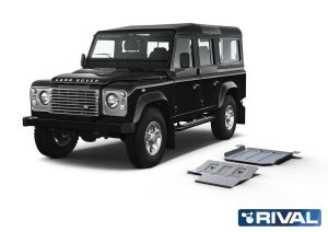 Rival4x4 2 piesces skidplate kit for Land Rover Defender 110