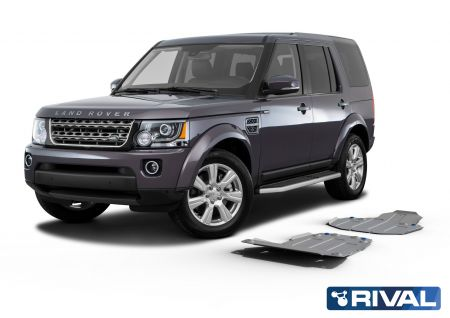 Rival4x4 2 pieces skidplate kit for Land Rover Discovery IV L319