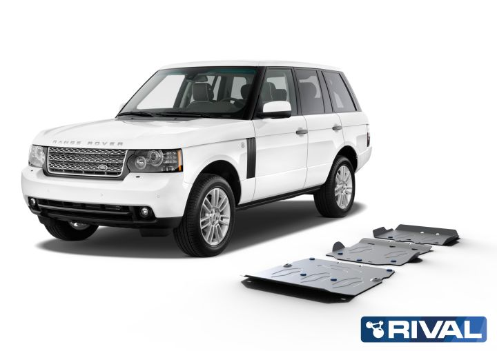Rival4x4 4 pieces skidplate kit for Land Rover - Range Rover LM/L322, 2001-2012 (-)