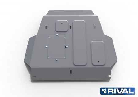 Rival4x4 engine (plate 1) skidplate for Toyota Land Cruiser 200 J20, 4,5D ->2015