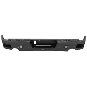 Rough Country Heavy Duty Rear Bumper with LED - Dodge RAM 1500 2009-2018