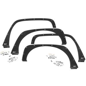 Front And Rear Fender Delete Kit Rough Country - Jeep Wrangler JK 2007-2018