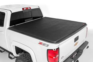 Rough Country Soft Tri-Fold Bed Cover 5'6