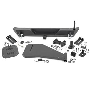 Rough Country Rear Trail Bumper with Tire carrier - Jeep Wrangler JL