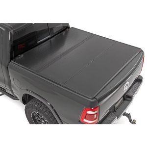 Rough Country Hard Tri-Fold Bed Cover 6'6