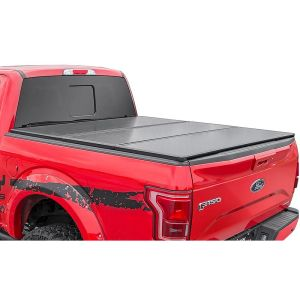 Rough Country Hard Tri-Fold Bed Cover 6'5