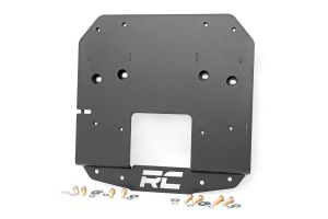 Spare tire relocation bracket vehicles without rear proximity sensors Rough Country - Jeep Wrangler JL