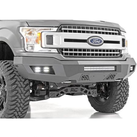 Rough Country Heavy Duty Front LED Bumper - Ford F150 2018 on