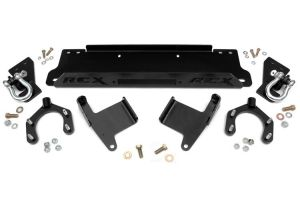 Rough Country Winch plate with d-ring Mounts - Jeep Wrangler JK