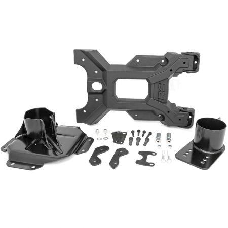 HD Hinged Spare Tire Carrier Kit Rough Country - Jeep Wrangler JK 2007-2018
