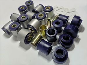 Polyurethane bush kit with metal housing swivel arm bushing Nissan Patrol Y60/61 2,8
