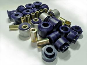 Polyurethane bush kit with swivel arm with metal housing in front Nissan Patrol Y61 3,0