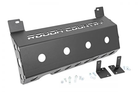 Rough Country Muffler skid plate - Jeep Wrangler JL