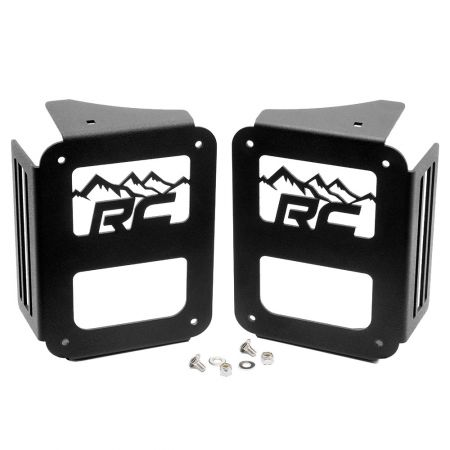 Rough Country Tail light covers - Jeep Wrangler JK 2007-2018