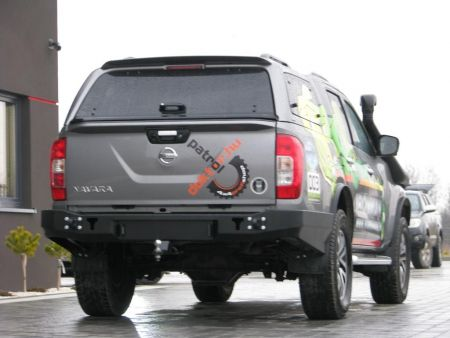 F4x4 Rear long bumper for Nissan Navara D23 from 2014