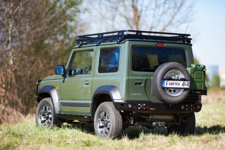 F4x4 Rear bumper for Suzuki Jimny IV 1.5 Petrol from 2018