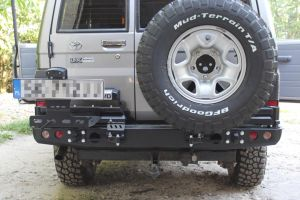 F4x4 rear OFF-ROAD PACK for Toyota Land Cruiser 70, 71, 73, 74, 76
