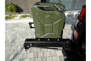 F4x4 Jerry can carrier steel 20L Toyota Land Cruiser 71, 75, 76, 78, 79 from 2007