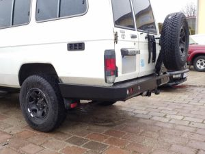 F4x4 rear OFF-ROAD PACK for Toyota Land Cruiser 71, 75, 76, 78, 79 from 2007