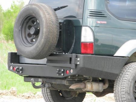 F4x4 spare wheel carrier Toyota Hilux 2005-2008