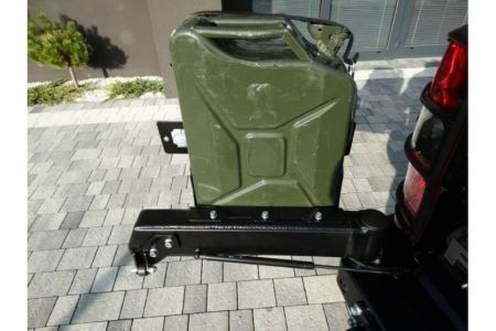 F4x4 Jerry can carrier steel 20L Toyota Hilux 2008-2011
