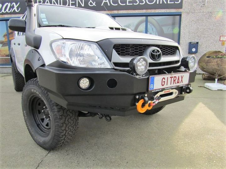 F4x4 Expedition bumper Pack for Toyota Hilux 2008-20 (-)