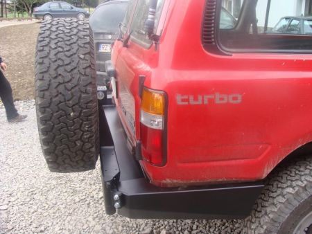 F4x4 spare wheel carrier Toyota Land Cruiser J80 1989-1998