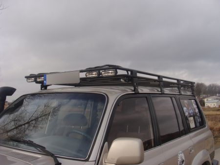 F4x4 roof rack Toyota Land Cruiser J80 1989-1998