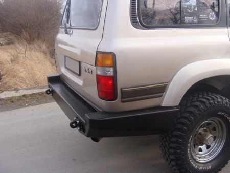 F4x4 Rear bumper for Toyota Land Cruiser J80 1989-1998