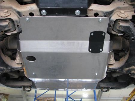 F4x4 aluminium engine skid plate for Toyota Land Cruiser J200 Diesel after 2007