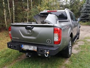 MorE4x4 Steel rear bumper Nissan Navara D23, NP300 after 2014, all engine