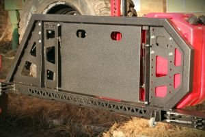 MorE4x4 Gondola Spare wheel carrier for Pick-Ups