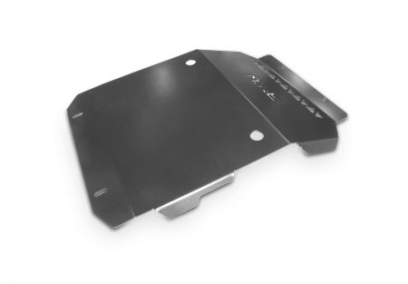 More4x4 steel skid plate for Mitsubishi L200 / Fiat Fullback with mounted winch mounting plate MorE4x4 2015=>
