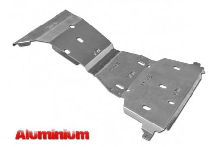 More4x4 3 pieces aluminium skid plate kit for Volkswagen Amarok 2016=>