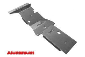 More4x4 3 pieces aluminium skid plate kit for Nissan Navara D23 / NP300 2014=>