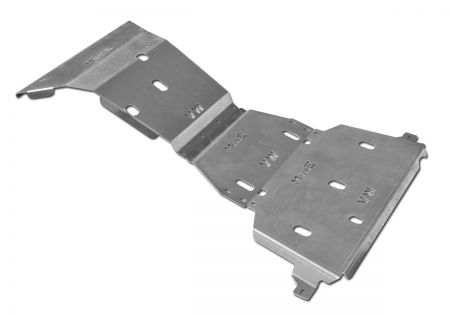 More4x4 3 pieces steel skid plate kit for Volkswagen Amarok 2016=>