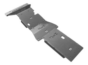 More4x4 3 pieces steel skid plate kit for Nissan Navara D23 / NP300 2014=>