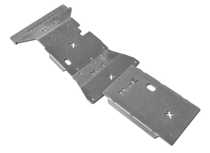 More4x4 3 pieces steel skid plate kit for Mercedes X-Class 2017=> (-)