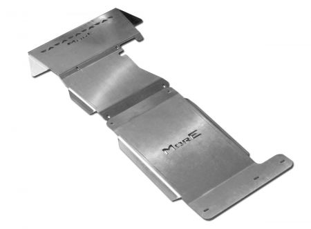 More4x4 2 pieces steel skid plate kit for Ford Ranger T6/ T7 2011=>
