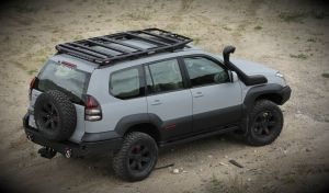 More4x4 Offroad roof rack Toyota Land Cruiser J120 2002-2009