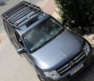 More4x4 Offroad roof rack Mitsubishi Pajero 4 V80 long 2006=>