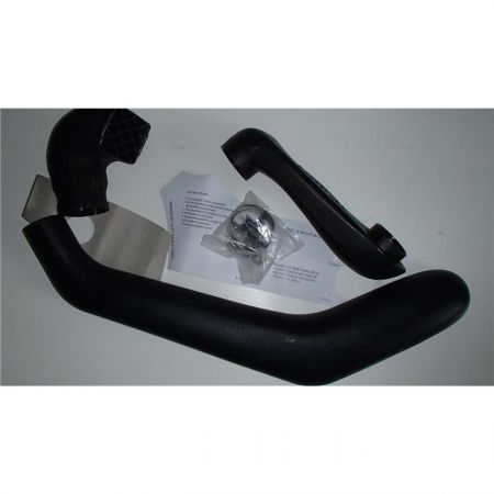 Shorter snorkel for Mitsubishi L200 1996-2006, Mitsubishi Pajero Sport 1998-2008 diesel, right side