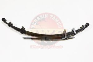 LEAF SPRING REAR RAISED 50MM TO 300KG H/DUTY DRIVERS SIDE