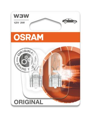 OSRAM ORIGINAL - WEDGE BASE W3W 2821-02B 12V 3W